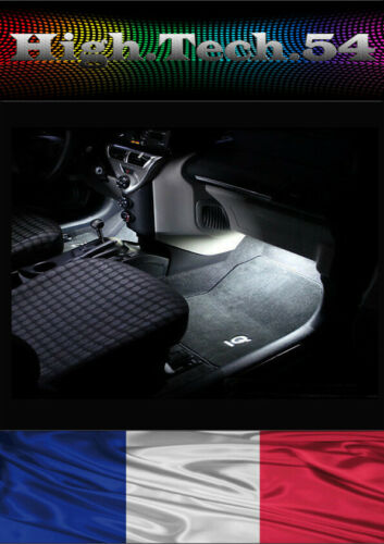 2 Ampoules LED Blanc éclairage Sols Tapis White Light Footwell OPEL INSIGNIA