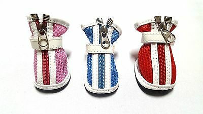 Botas Zapatos Lindo Perros Pequeños Chihuahua Yorkshire Terrier Beagle Pomerania