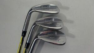 LEFTY-Mizuno-Golf-S18-White-Satin-50-56-60-Dynamic-Gold-Wedge-Flex-M-C-Grip