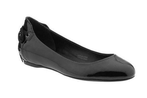 VERA WANG HELEN  PATENT LEATHER $198.00  BALLET FLAT SHOES $198.00 LEATHER 5.5 6  8.5 f94b7a