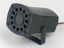 Piezoelettrici SIRENA 12V 105DB Loud ALARM SIREN munito di contatti preselezionati e STAFFA BARCA / capannone