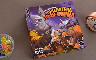 Русский Настольная игра Повелитель Нью-Йорка BOARD GAME  King of New York