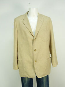 L Mint Brown Gr 8232 Blazer Baldessarini Cashmere Silk 48 FqwaUz