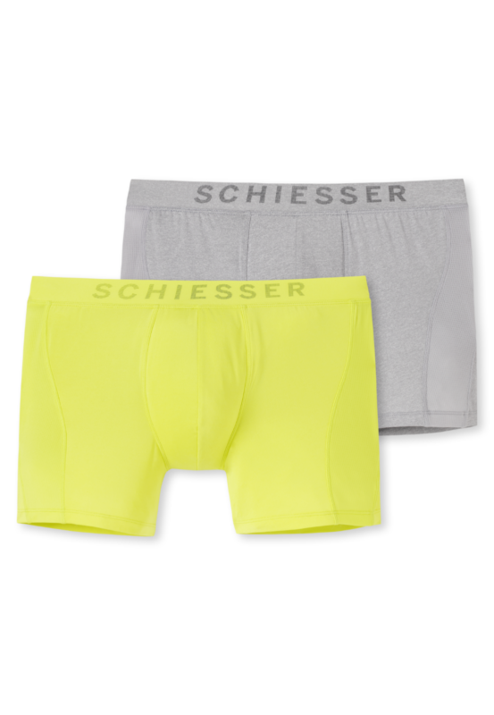 167557 - 908 Schiesser Herren Shorts Mesh 2er Pack