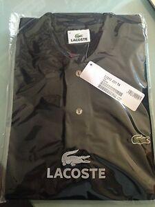Lacoste L1212 T-shirt Polo da Uomo Nero (noir) Medium