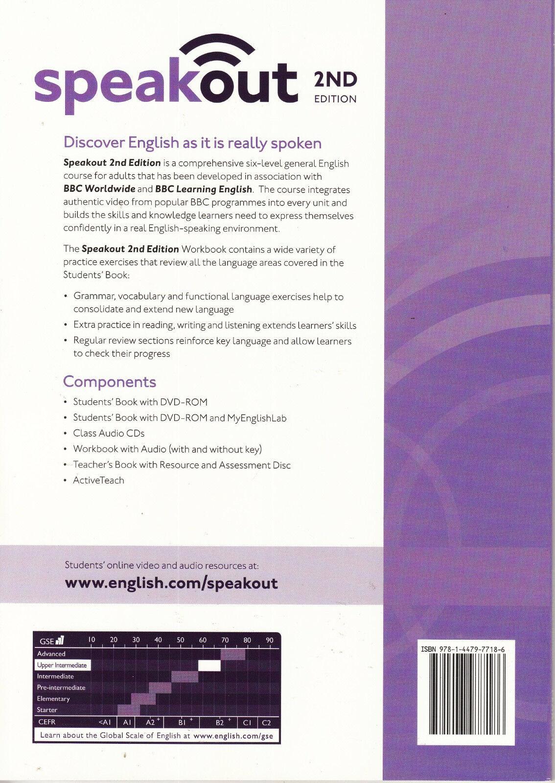 Speakout upper intermediate 2nd edition workbook with key by louis resntentobalflowflowcomponentncel fandeluxe Choice Image