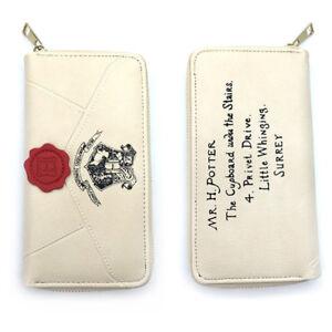 a89f1b5647549 Das Bild wird geladen Harry-Potter-Damen-Herren-Leder-Geldboerse-Kunstleder- Portemonnaie