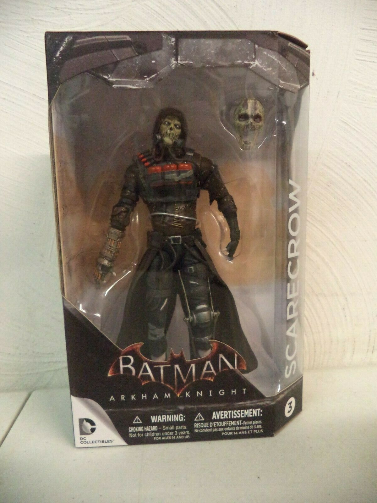 DC COLLECTIBLES - ARKHAM KNIGHT - SCARECROW - 3