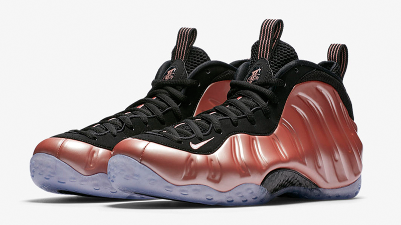 new concept ec9cd 1b11d NIKE NIKE NIKE AIR FOAMPOSITE ONE RUST Rosa Gr. 43 100% Original   NEU  314996-602 160e4d