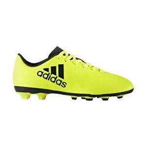 huge discount 0e733 df18c La imagen se está cargando adidas-X-17-4-FXG-Botas-de-futbol-