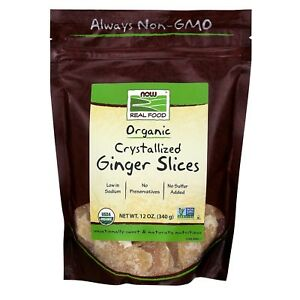 NOW-Foods-Ginger-Slices-Crystallized-amp-Organic-12-oz