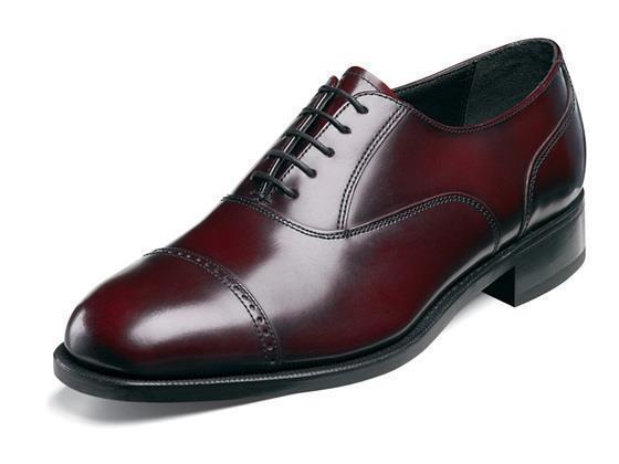 Florsheim Homme Lexington Cuir Cap Toe bordeaux chaussures 17067-05