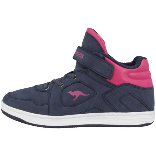 KangaROOS K-BaskKid LV Schuhe High Top Kinder Freizeit Sneaker navy 18088-4204