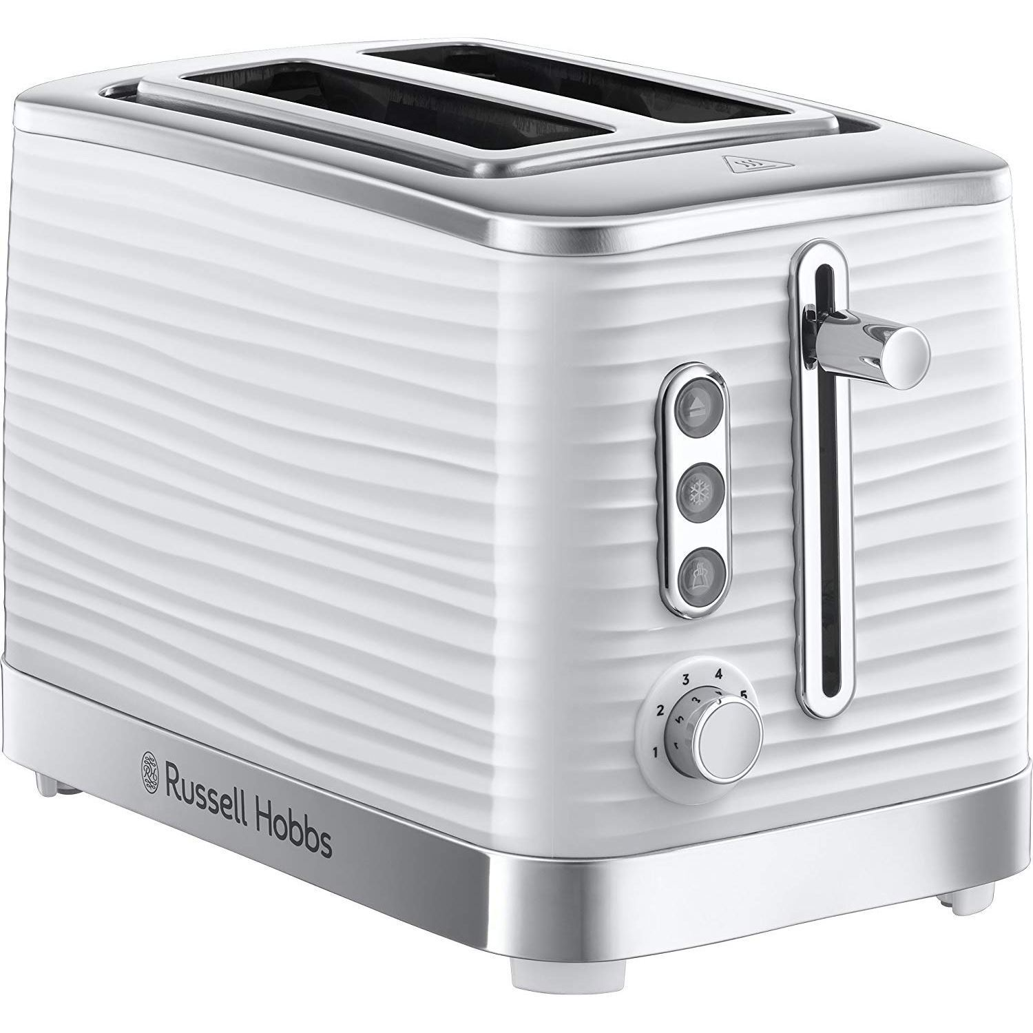Russell Hobbs 24370 Inspire Haute Brillance PLASTIQUE 2 Tranches Grille-Pain,