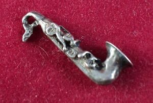 Sterling-SILVER-Charm-3-D-SAXOPHONE-SAX