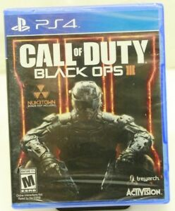 Details about Call of Duty Black Ops 3 III PS4 PlayStation 4 - New SEALED -  Free Shipping