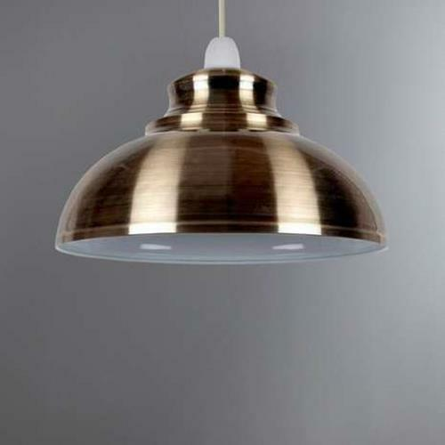 Industrial style laiton antique cuisine métal ajustement facile plafond abat-jour suspendu