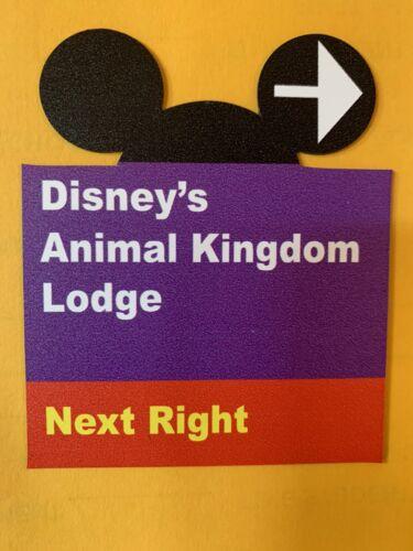 Ears Cut Out Walt Disney World Road Sign Inspired Magnet Animal Kingdom Lodge