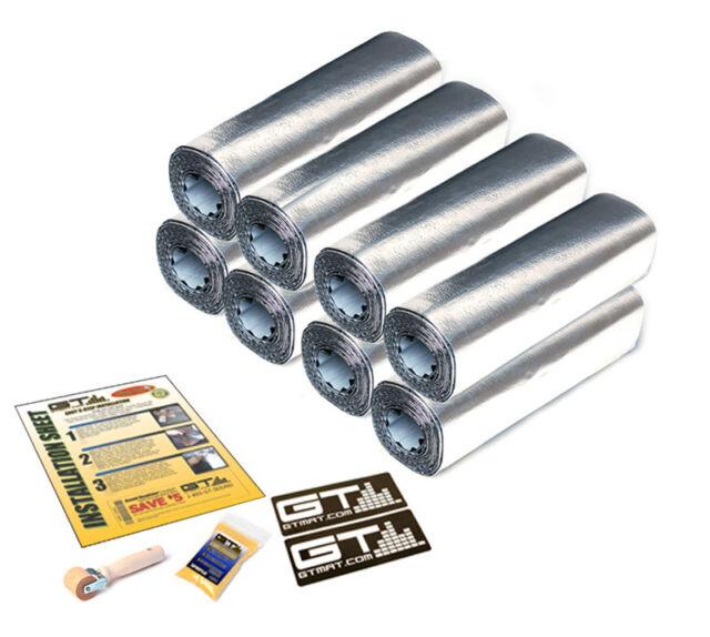 "FOUR DOOR KIT GTMat Supreme 110mil 24 SQFT Car Sound Deadener Mat 12""X36"" SHEETS"