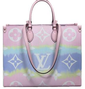2020 Louis Vuitton Escale Onthego Gm Monogram Two Way Shoulder Bag M45119 50329 Ebay