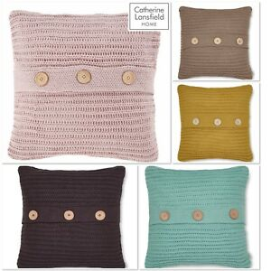 Catherine-Lansfield-Chunky-Knit-Cushion-Cover-5-Colours-Available-45cm-x-45cm