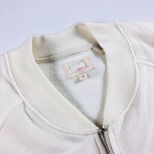 Levi/'s Sweatshirt Men's Full Zip Retro Bomber Track Top Marshmallow 39874-0002