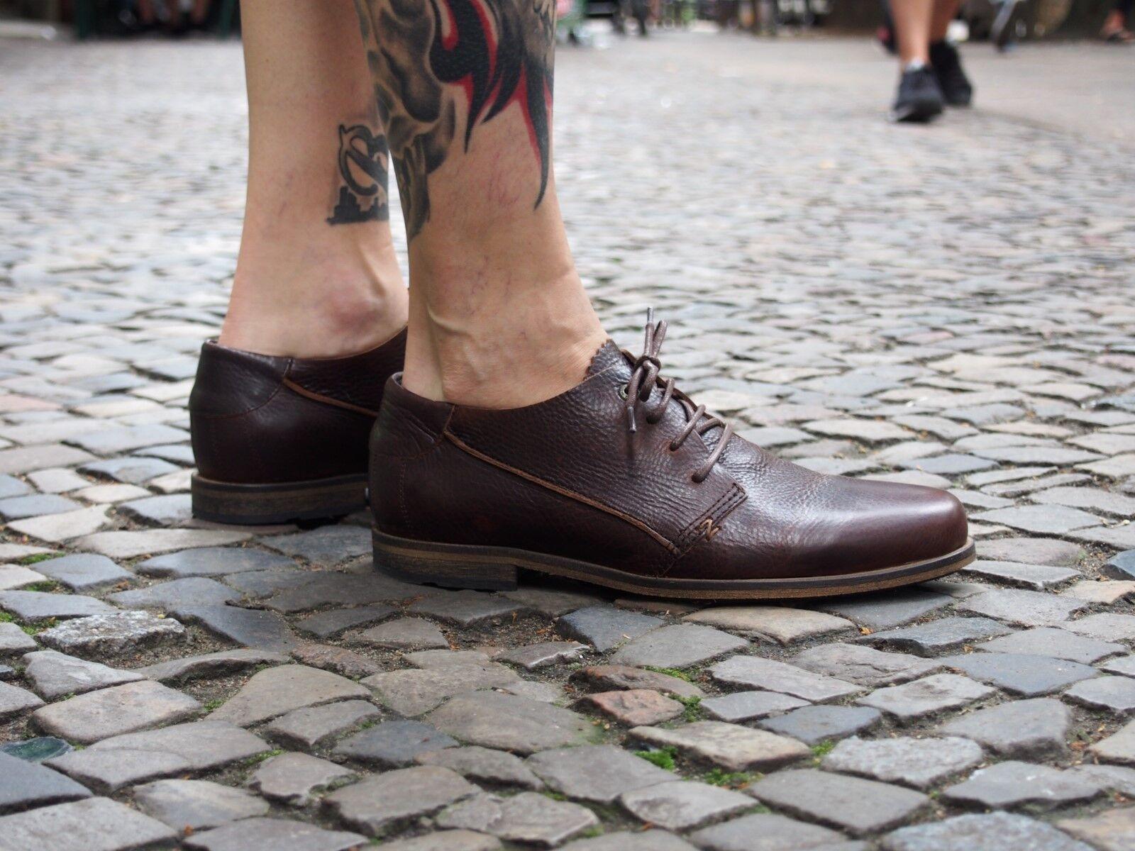 HUB HUB HUB Footwear Herrenschuhe Mattfield dark brown Echtleder Halbschuhe NEU SALE 64e294