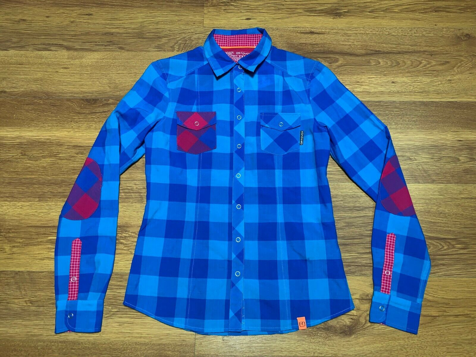 ORTOVOX Rock n' Wool Long Sleeve Shirt Damen Hemd Gr S Women Top Merino Wolle