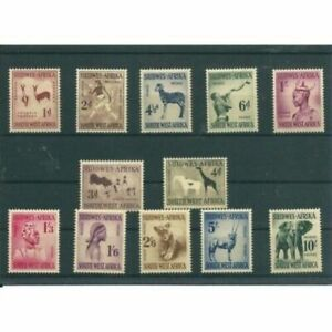 South-West-Africa-1961-Animals-Wildlife-Set-Mint-Never-Hinged