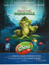 PUBLICITE ADVERTISING 015  2011  CHERIE FM   PRINCESSE GRENOUILLE WALT DISNEY