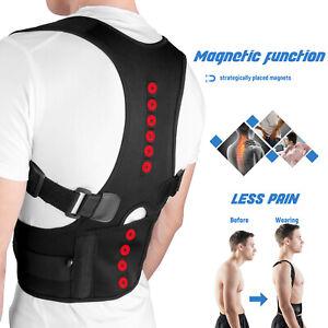 Posture-Corrector-Support-Magnetic-Back-Shoulder-Brace-Belt-For-Men-Women-Kids