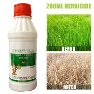 Glyphosate-Herbicide-weedkiller-remove-broadleaf-Weed-amp-Grass-sprayer-Kill-200ml
