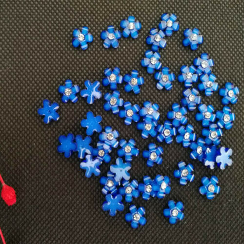 10 mm Resin Rhinestone Flowers Flatback Buttons Cabochons for Crafts Decorations