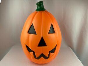 "Vintage Empire Halloween 22"" Pumpkin Jack-o-Lantern Lighted Blow Mold Works"