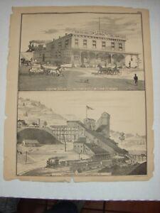 Original-1873-Print-Mahanoy-City-Pa-Girardville-Pa-Schuylkill-County-Pa