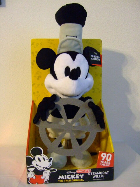 DISNEY MICKEY STEAMBOAT WILLIE DANCING WHISTLING SPECIAL ...