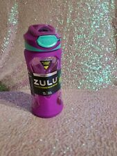 ZULU 16oz Torque Tritan BPA Plastic Sport Water Bottle Blue Sleeve B124 for sale online