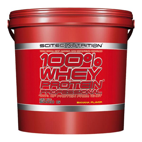 Scitec Nutrition  100% Whey Protein Prof.  Nutrition 5000g Eimer + Proben +RAGING BLood Fl. 04f41e