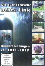 Die tschechische Benès-Linie - Bunker und Festungen von 1935-1938 - DVD-Dokument