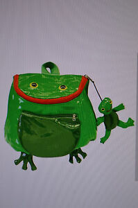 Kidorable-Frog-Backpack-Bag-Green-One-Size-by-Kidorable-Brand-New-AA1