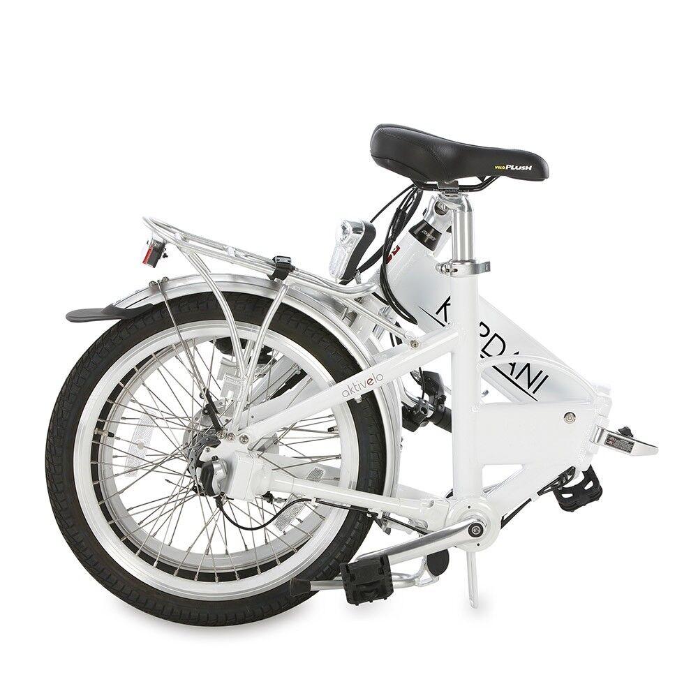 Alu Elektro Elektrofahrrad Faltrad Fahrrad Klapprad Pedelec Elektrofahrrad Elektro 20 Zoll Weiß 4c0d78