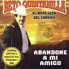 Quintanilla, Beto Abandone a Mi Amigo CD ***NEW***