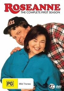 Roseanne-Season-1-DVD-2006-3-Disc-Set-Region-4-Used-in-VGC-with-Free-Post