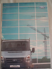 Ford Chassis Cabs range brochure Apr 2006