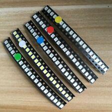 500pcs Smd Led Kit 1206 0805 0603 Red Green Blue White Yellow 5 X 100pcs Pack