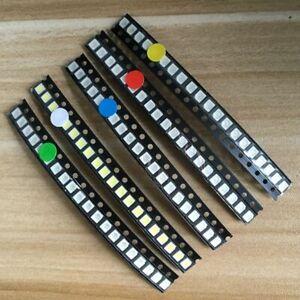 500-un-SMD-LED-Kit-1206-0805-0603-Rojo-Verde-Azul-Blanco-Amarillo-5-X-Paquete-100-un