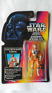 STAR-WARS-LUKE-SKYWALKER-FIGURE-X-WING-PILOT-KENNER-LONG-LIGHT-SABRE-1996-RED-TR