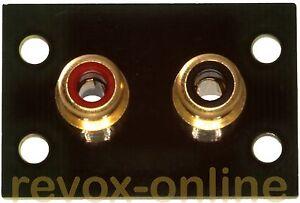 Abstandserweiterung-der-Cinchbuchsen-schwarz-Revox-B740-B-740-das-Original-15-mm