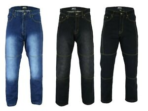 Men-Motorbike-Motorcycle-Textile-jeans-Reinforced-with-Protective-Lining-Trouser