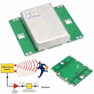 Details about HB100 10 525GHz Microwave Motion Sensor Doppler Radar  Detector for Arduino